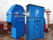 Petroleum coke station project bucket elevator for slag removal system