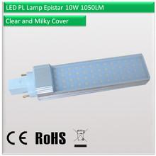 3000k led pl lamp g24q-3 base / led bulb pl 7 / 5 watt base g24