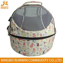 Round Designer Wholesale Portable Pet Carrier Cat Dog Tote Handbag Pet Dog Carrier Bag
