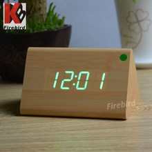 Cheap items to sell voice control led clocks with usb or batteries power supply