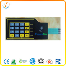 4*4 keys Quakeproof Membrane Switch Keyboard F200 / F150 / V200 Material