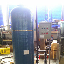 Hardeness removing small water filter water softener for sales