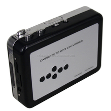 Tape to mp3 converter cassette to mp3 converter casstte to TF card tape to USB- ezcap232
