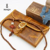 handmade full-grain leather wallet for christmas gift