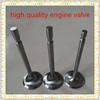 Titanium alloy engine valves for wartsila and for mitsubishi