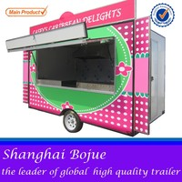 FV-55 less steel factory food cart catering food traile mobile hot dog food cart