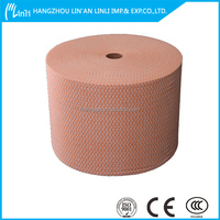2015 hot-selling nonwoven polyester wadding/raw materials of cleaning products with low price