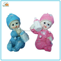 Modern hotsell mini baby resin figurines