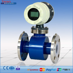 Low cost PTFE water flow meter, RS485 water flow meter made in china