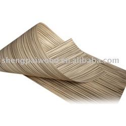 oak/ebony/rosewood/zebrawood/teak/apricot/walnut/wenge/ash engineered timber wood recon mdf face veneer