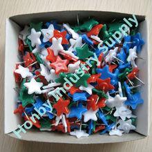 Bulk packing 13mm star shaped art supplies push pin