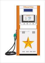 Ethanol fuel dispenser for gas station