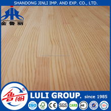 rubberwood finger jointed laminated board for decoration made by LULIGROUP China manufacture since 1985