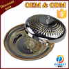 gold plated tray with cover/plate/dinner plate for Dubai T395
