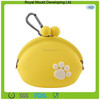 New women's and Gril's candy color bulk wholesale silicone coin purse for kids