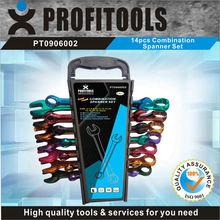 14pcs CRV colour coded tool kit