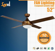 Home decorative ceiling fan motor with led light