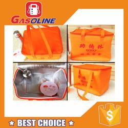Best price decorative reusable shopping bag laminated non woven bag
