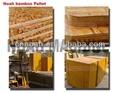 la plataforma de madera