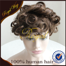 Hot sale Best quality Indian human Remy hair Hot sale toupee for men