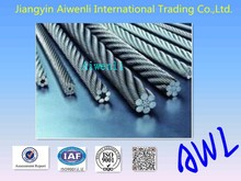 PVC/Nylon Coated 316 Stainless Steel Wire Rope