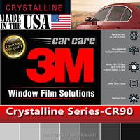 Genuine 1.52x30m CR90 Crystalline 90% VLT Housing Automotive Car Truck Roll 3M Window Tint Film