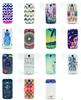 Soft TPU Back Case for samsung galaxy s4 cover I9500 with White W Line