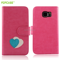wallet leather case for samsung S6