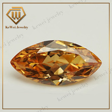 factory direct sales latest model fashion champagne marquise CZ stones