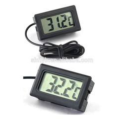 pet thermometer waterproof TPM-10 mini fish bowl used digital aquarium thermometer