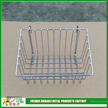 high quality chrome metal golf ball wire basket