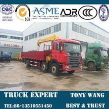 JAC 14 ton Boom crane truck,truck mounted crane,6x2 heavy truck for sale