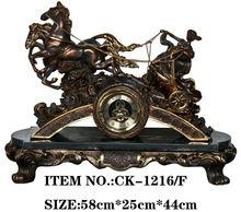 China brass antique clocks