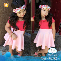 2015 wholesale mustard pie and tutu design birthday party dress for baby girl