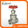 "Taiwan supplier pressure 600psi 1/2"" to 3"" npt float gate valve 316"