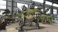 Mechanical Animatronic Stegosaurus Dinosaur Robots for park