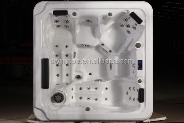 Массаж ванна джакузи на открытом воздухе спа сделано в китае, портативный ванна струи спа