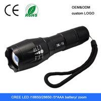 MAYOR WOLF Rechargeable LED Flashlight/ OEM/ODM Manufacturer