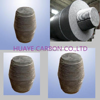 High pure fine grain graphite tube/price graphite electrode RP/IP/HP/UHP