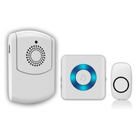 wireless portable doorbell for the deaf Designed specifically for the BLIND HEARING IMPAIRED and SENIOR CARE