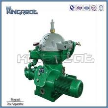 Modelo PDSD1500-M de purificación de aceite centrífuga pequeño aceite separador