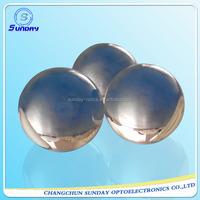 Optical glass ball lenses,half ball lens,bk7,fused silica,sapphire,caf2,znse