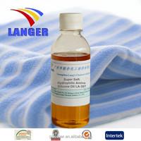 Textile Auxiliary Agent Super Soft cotton Hydrophilic Amino Silicone Oil