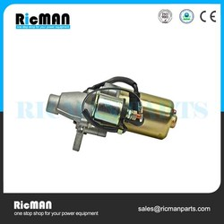 motorcycle starter motor fits 168FA 168FB GX160 GX200 small water pump generator engine parts