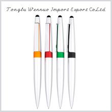 Cheap simple style stylus roller ball pen