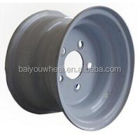 10inch ATV wheel with 5bolt holes 5*114.3 4*101.6 PCD 10*6''