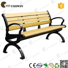 High quality hot selling wpc bench antique wooden garden bench
