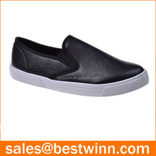 fashion soft light weight pvc injection slip on trainers