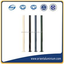 Extruded aluminum profile rail