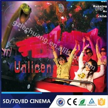 Earn Money High Return Amusement Park Equipment New Movie In Theatre